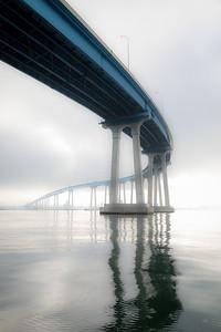 JUNE GLOOM  -  CORONADO BRIDGE