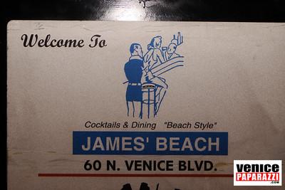 James' Beach.  60 N. Venice Blvd.  Venice, CA 90291.  www.jamesbeach.com .  Photos by www.venicepaparazzi.com