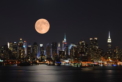 NYC Super Moon