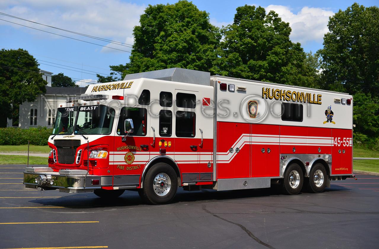 HUGHSONVILLE, NY RESCUE 45-55