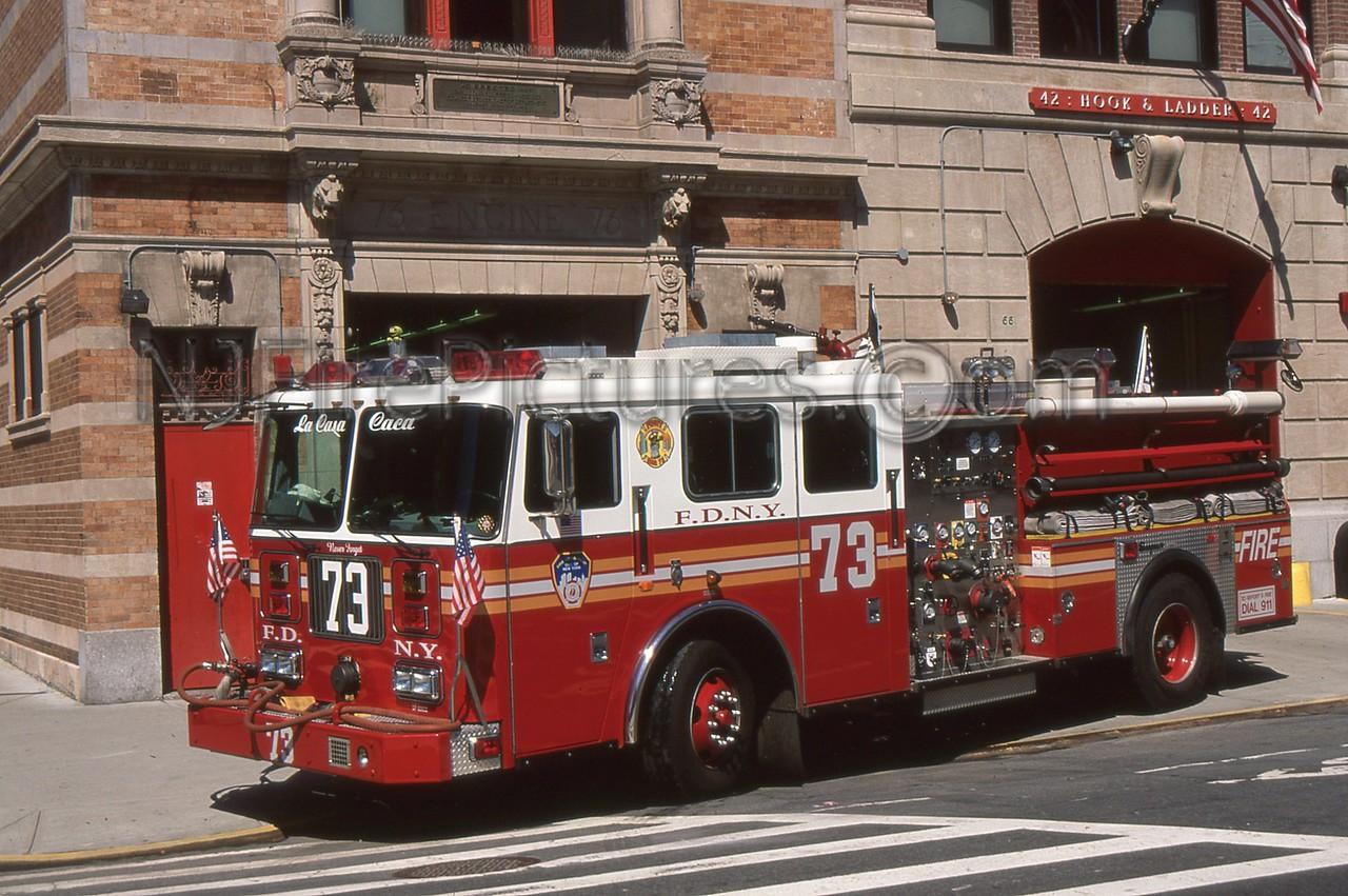 BRONX NY ENGINE 73