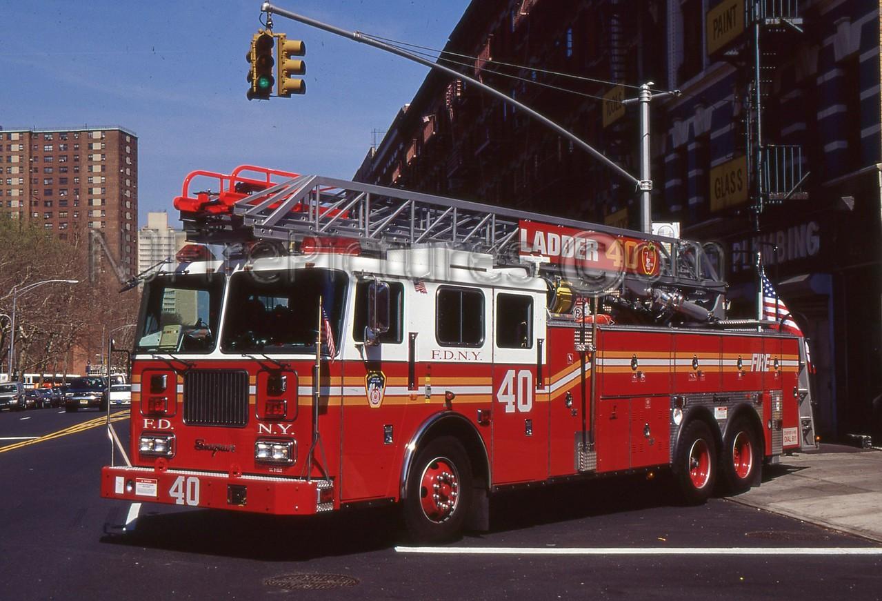 BRONX NY LADDER 40