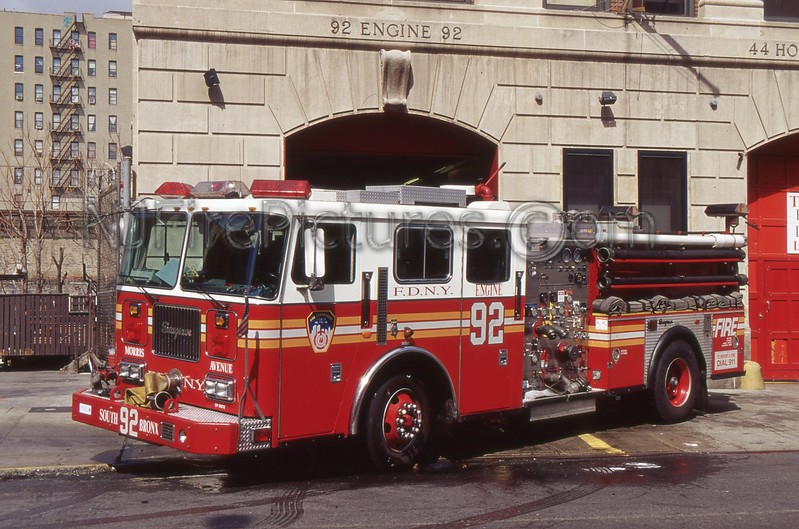 BRONX NY ENGINE 92
