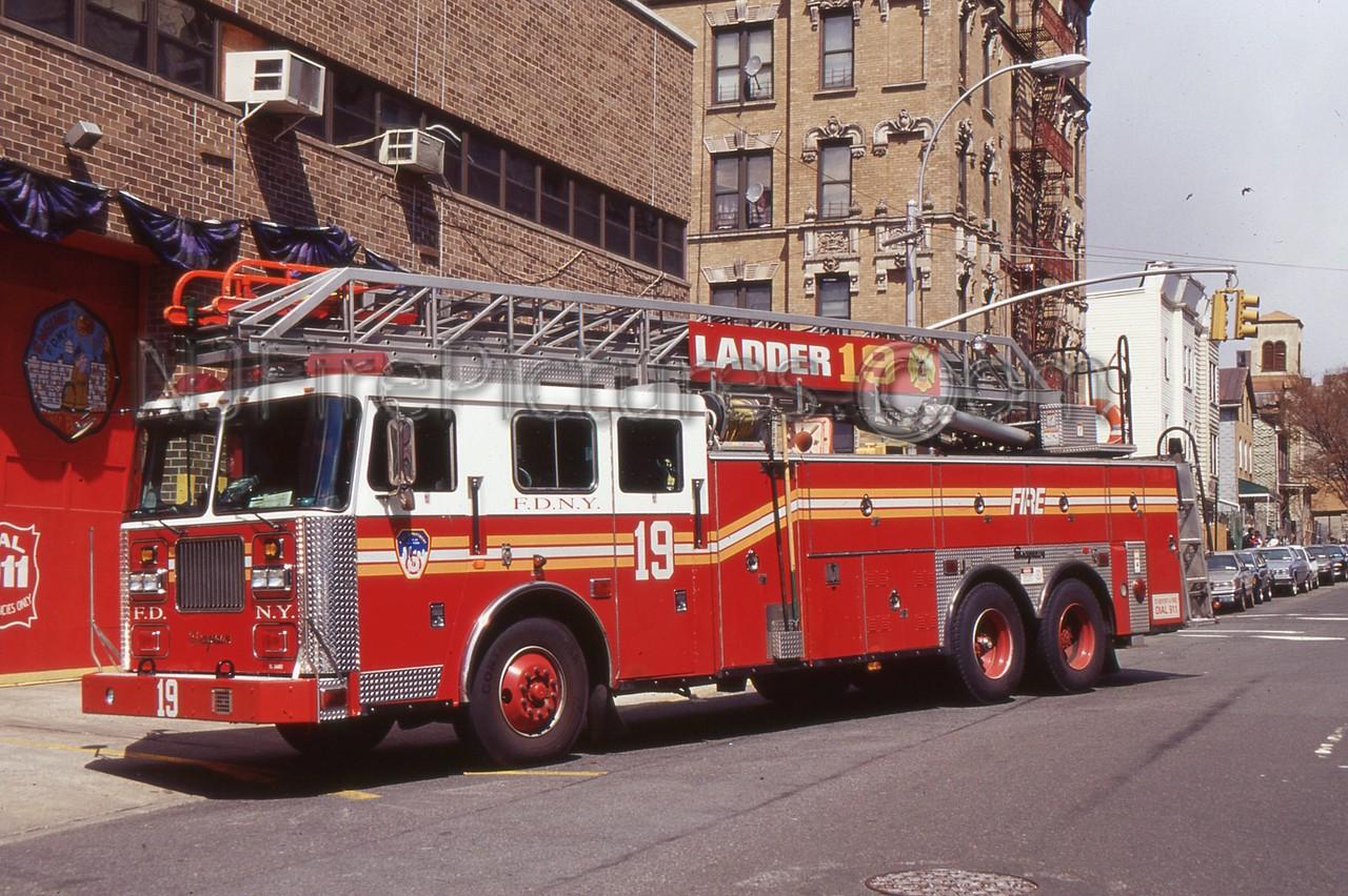 BRONX NY LADDER 19