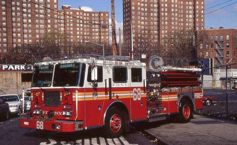 BRONX NY ENGINE 68