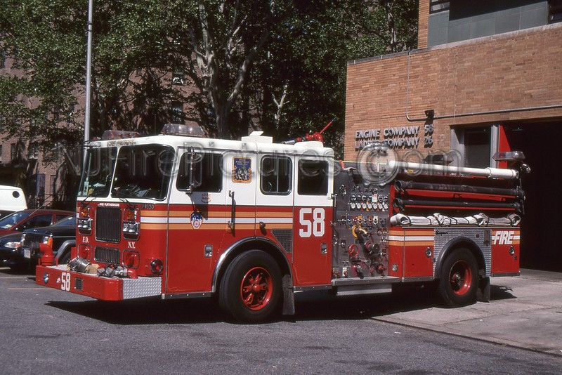 HARLEM NY ENGINE 58