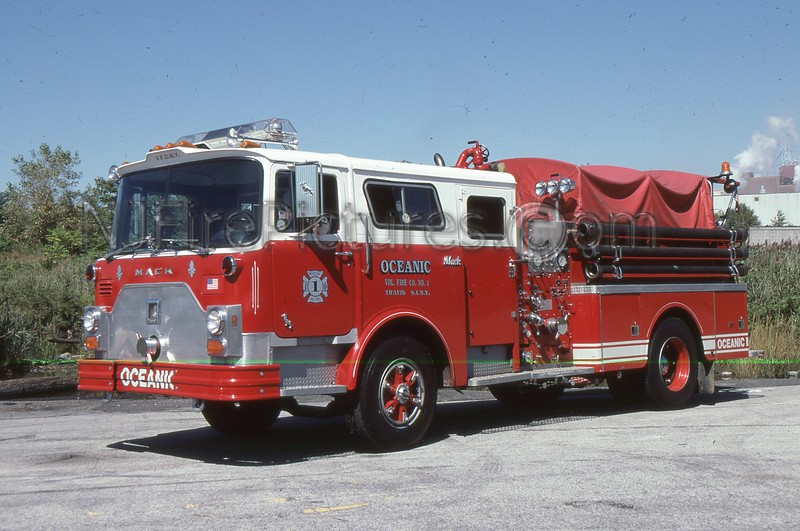 STATEN ISLAND NY OCEANIC VOLUNTEERS ENGINE 1