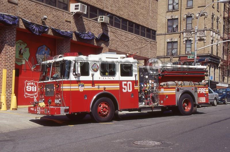 BRONX NY ENGINE 50