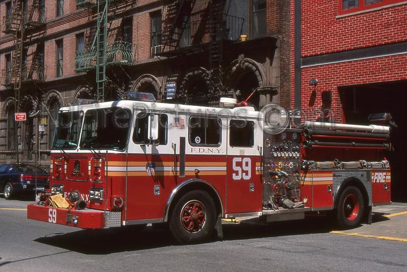 HARLEM NY ENGINE 59