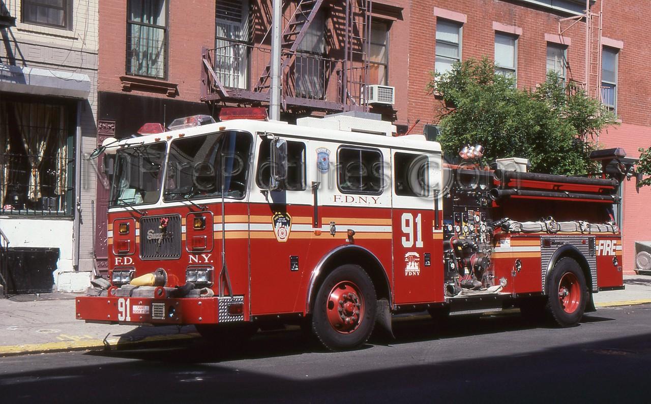 BRONX NY ENGINE 91