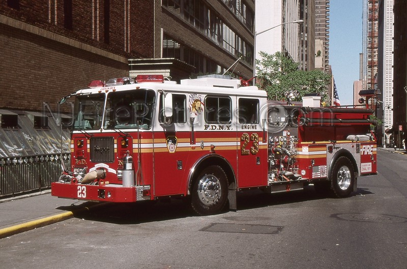 MANHATTAN NY ENGINE 23