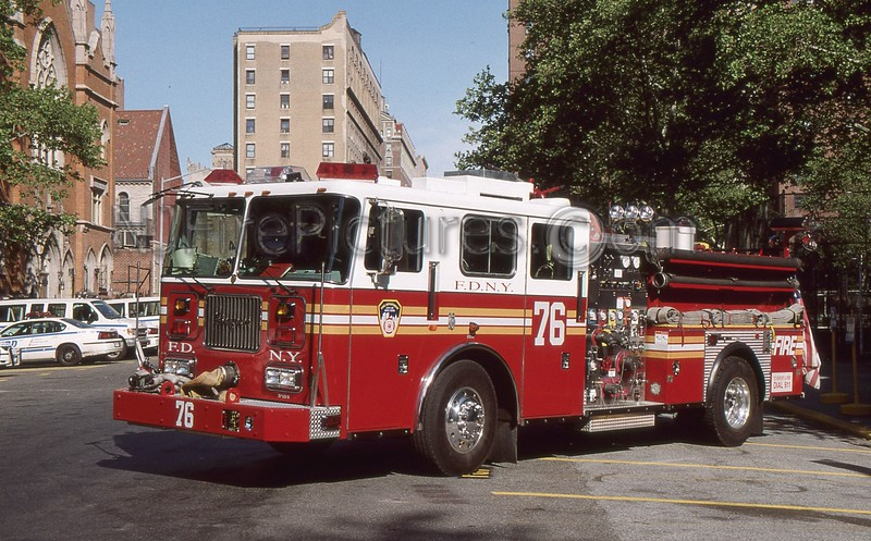 MANHATTAN NY ENGINE 76