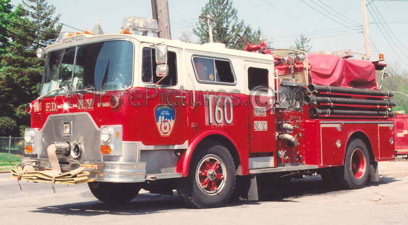 Engine 160 - 1986 Mack CF/Ward 79 1000/500