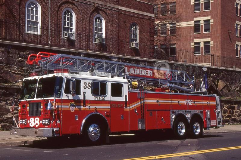 BRONX NY LADDER 38