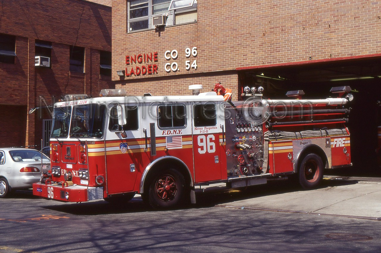 BRONX NY ENGINE 96