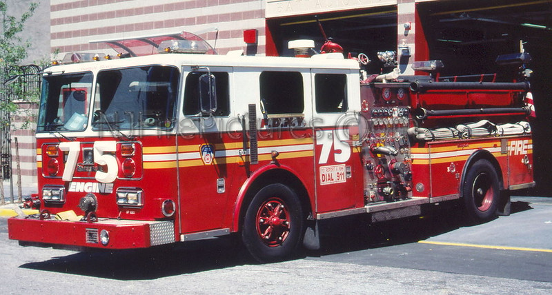 Engine 75 - 1993 Seagrave 1000/500  #SP9361