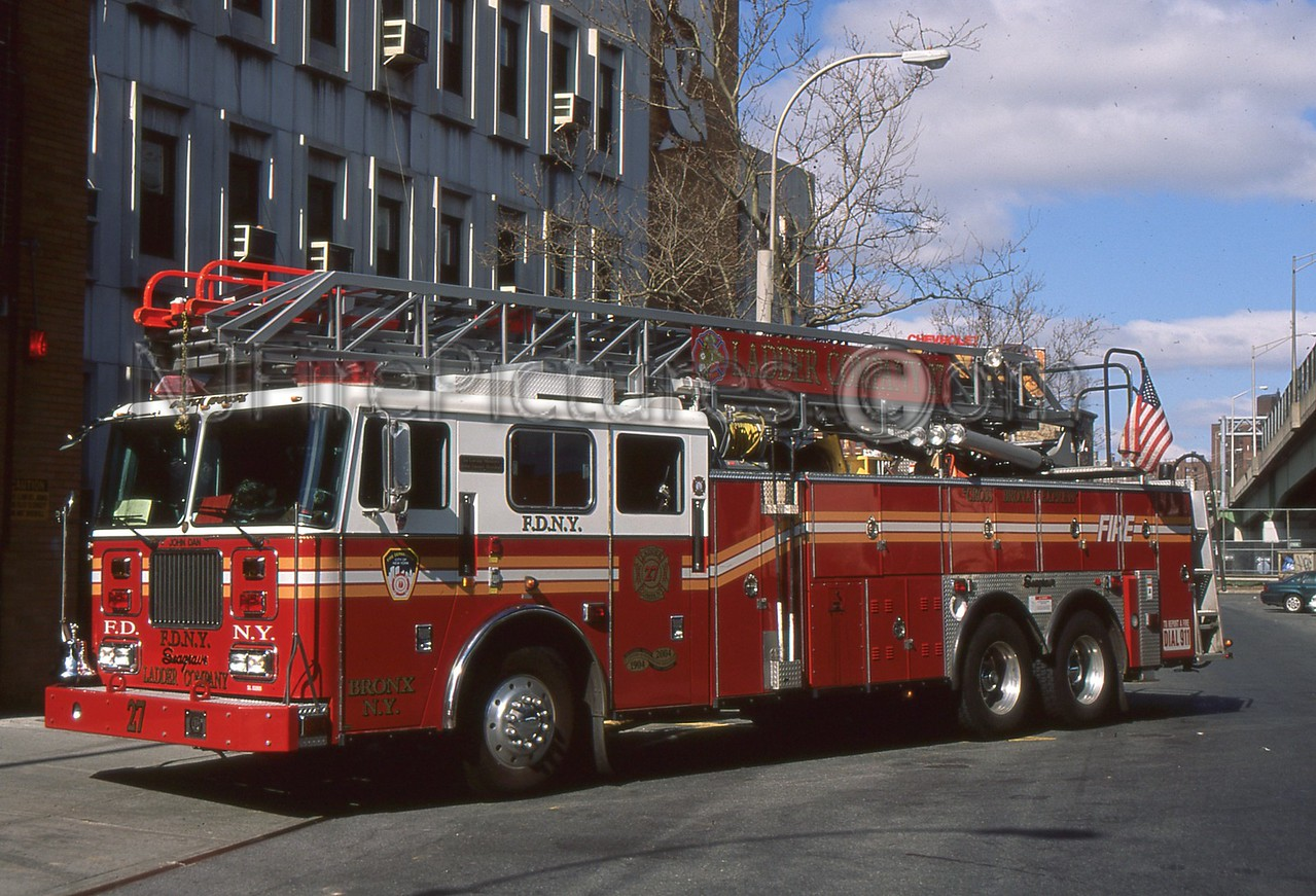 BRONX NY LADDER 27
