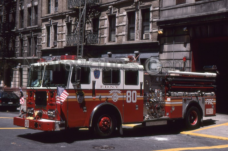 MANHATTAN NY ENGINE 80