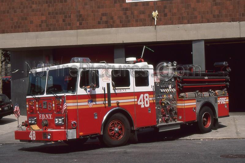 BRONX NY ENGINE 48