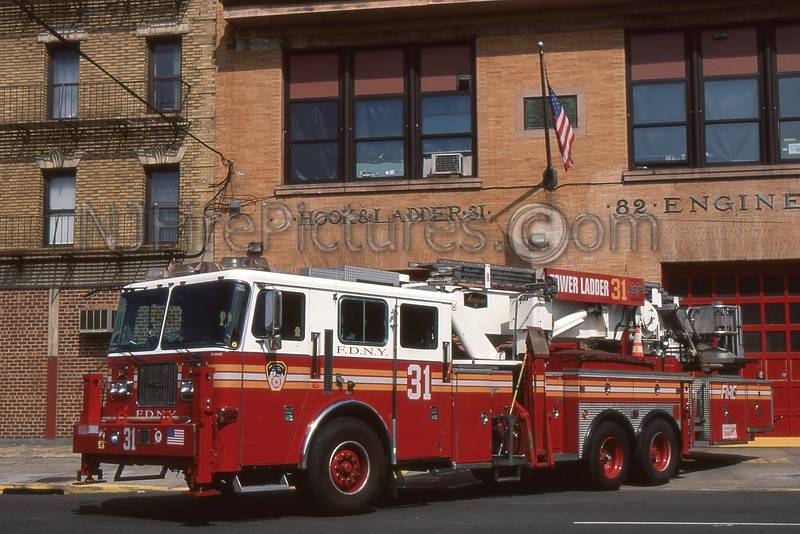 BRONX NY TOWER LADDER 31