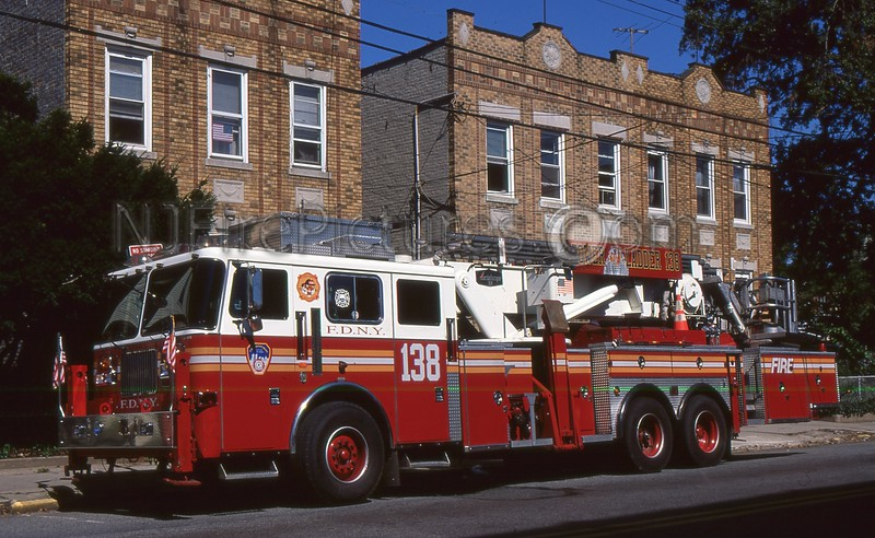 QUEENS NY TOWER LADDER 138