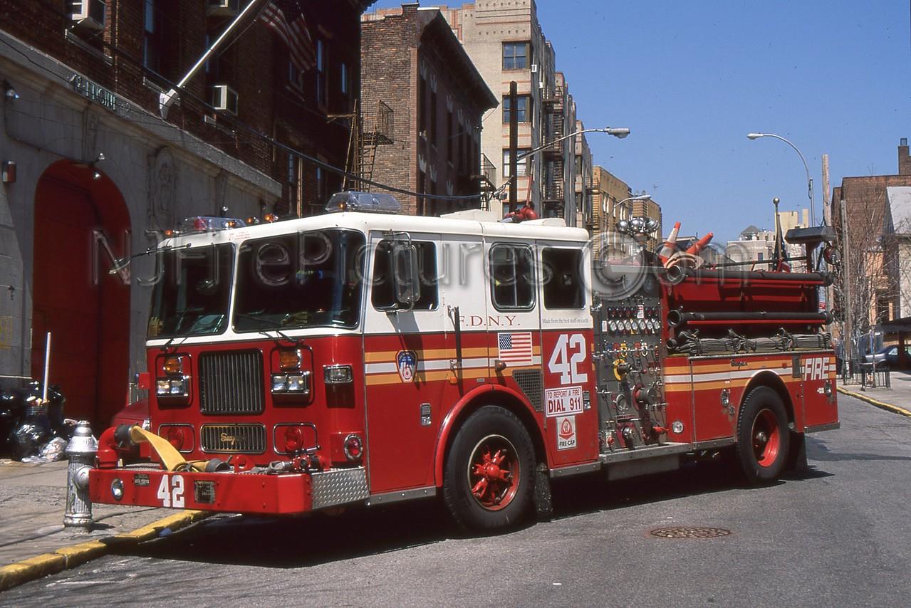 BRONX NY ENGINE 42