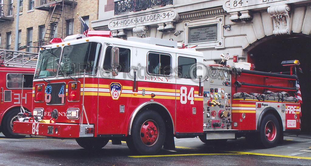 Engine 84 - 1998 Seagrave 1000/500 #SP98027