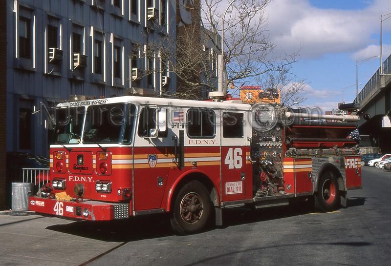 BRONX NY ENGINE 46