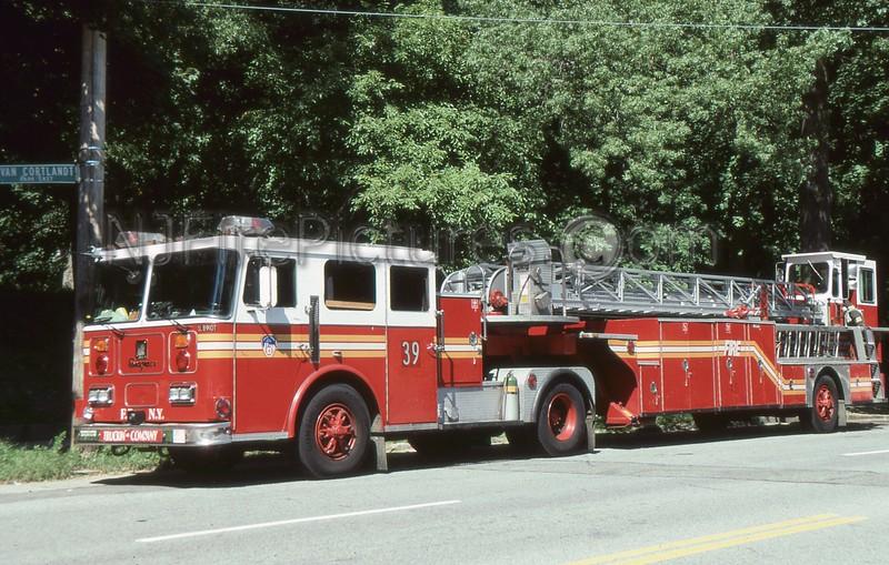 BRONX NY LADDER 39
