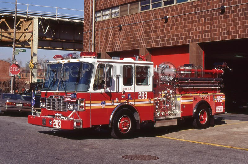 BROOKLYN NY ENGINE 283
