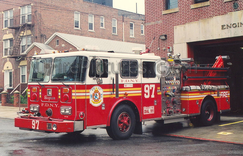 Engine 97 - 1993 Seagrave 1000/500  #SP9318