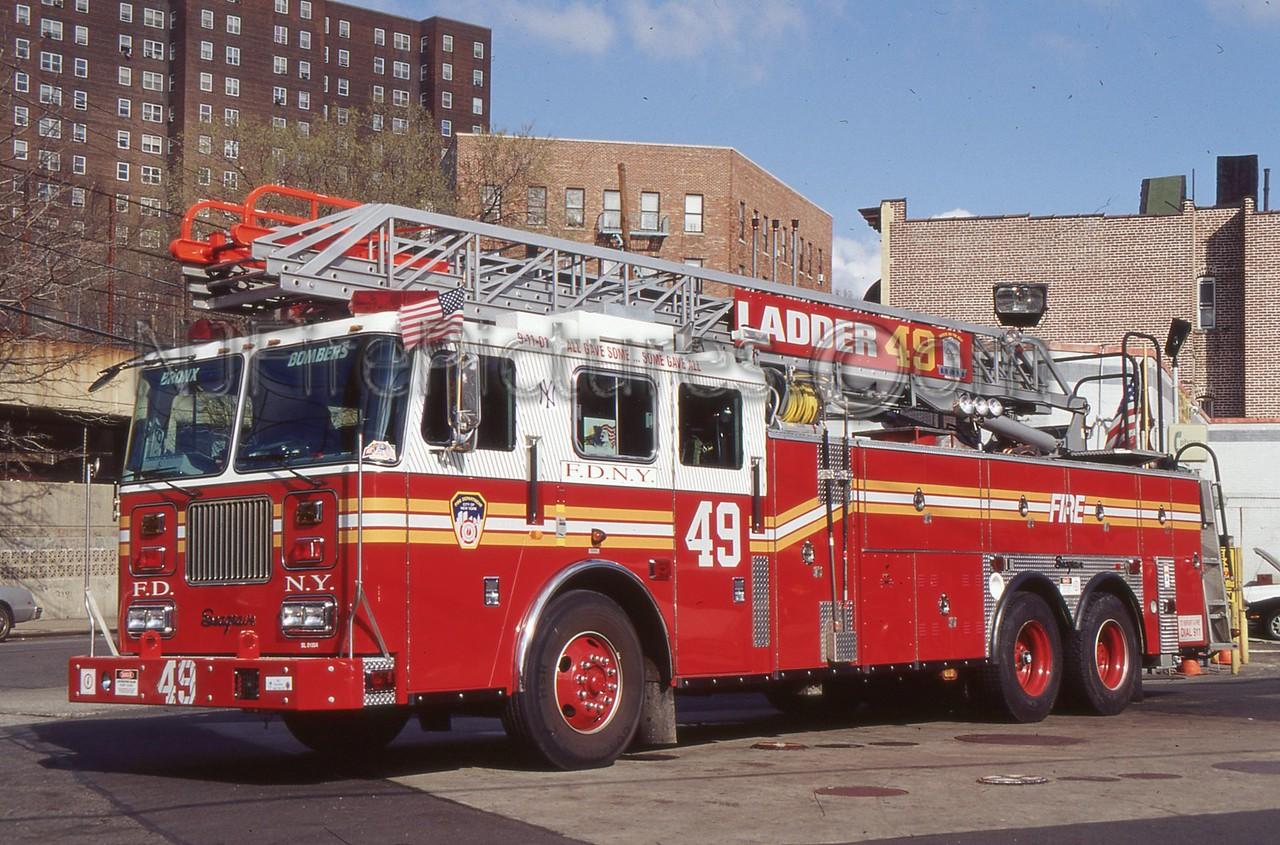 BRONX NY LADDER 49