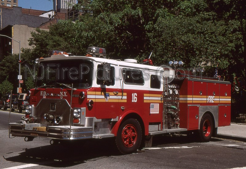 MANHATTAN NY ENGINE 16