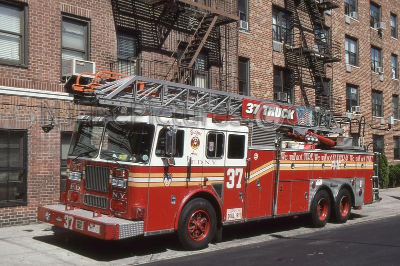 BRONX NY LADDER 37
