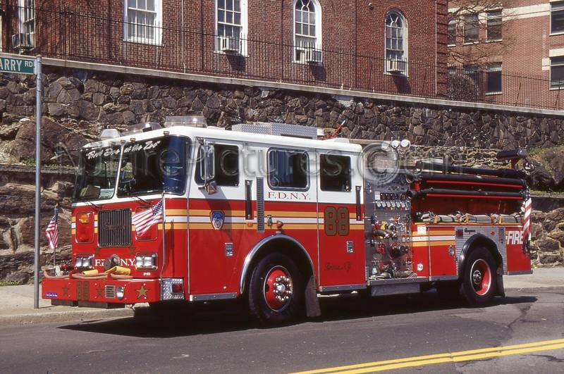 BRONX NY ENGINE 88
