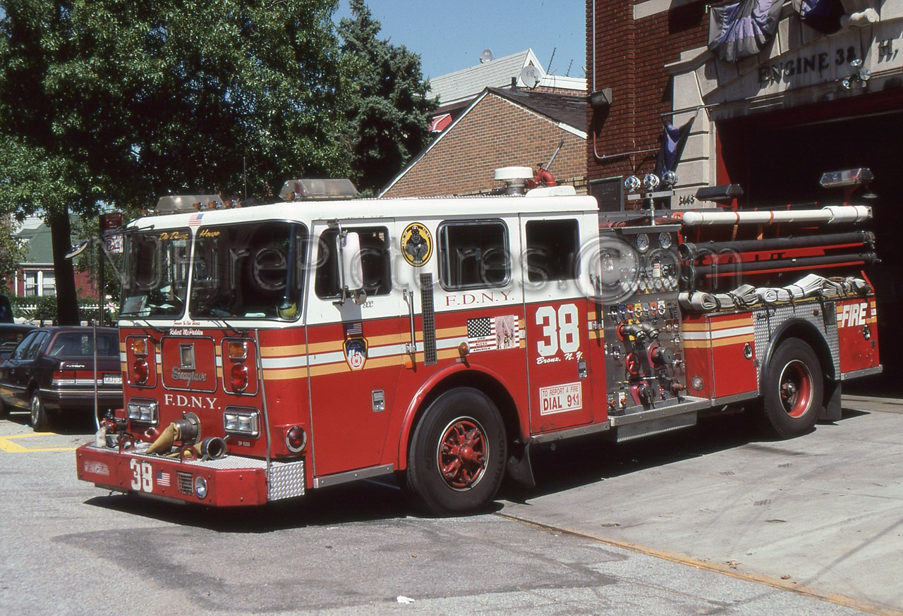 BRONX NY ENGINE 38