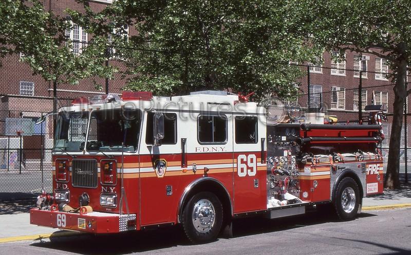 HARLEM NY ENGINE 69