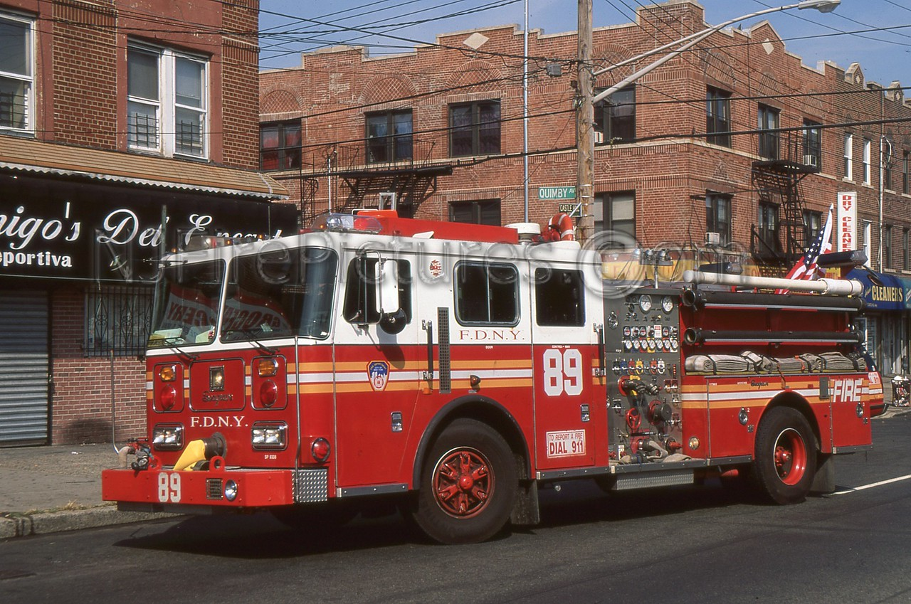 BRONX NY ENGINE 89