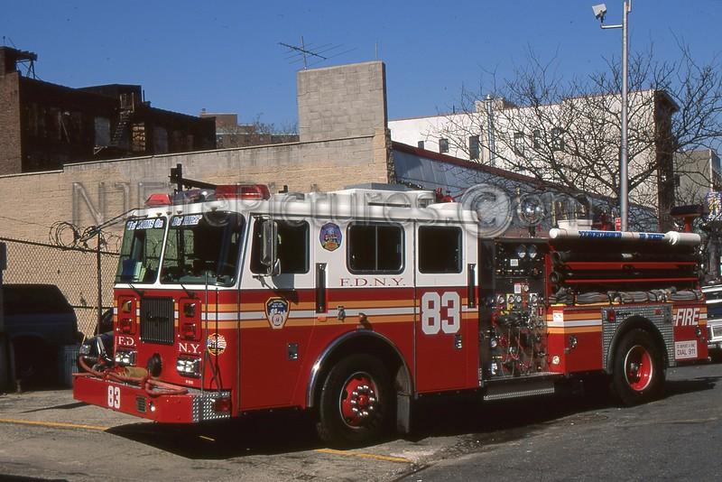 BRONX NY ENGINE 83