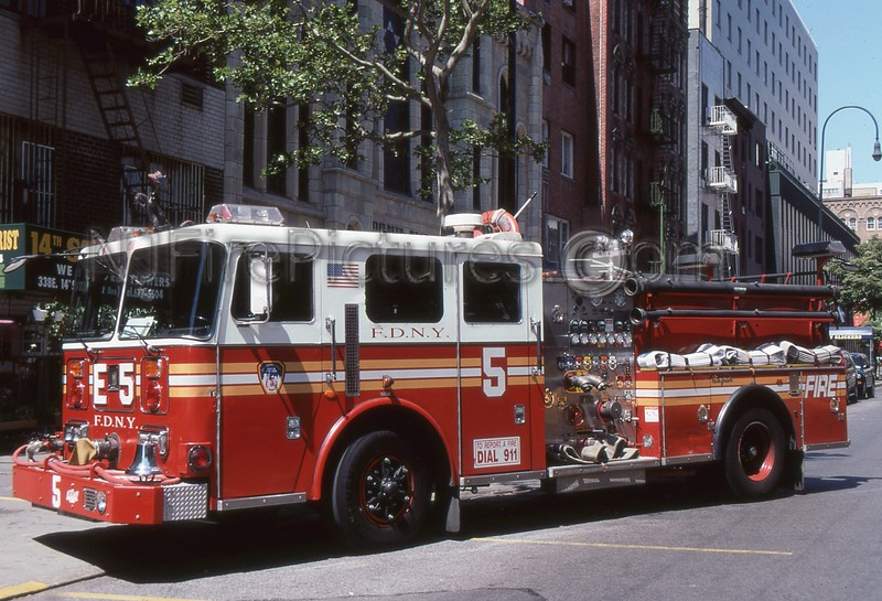 MANHATTAN NY ENGINE 5