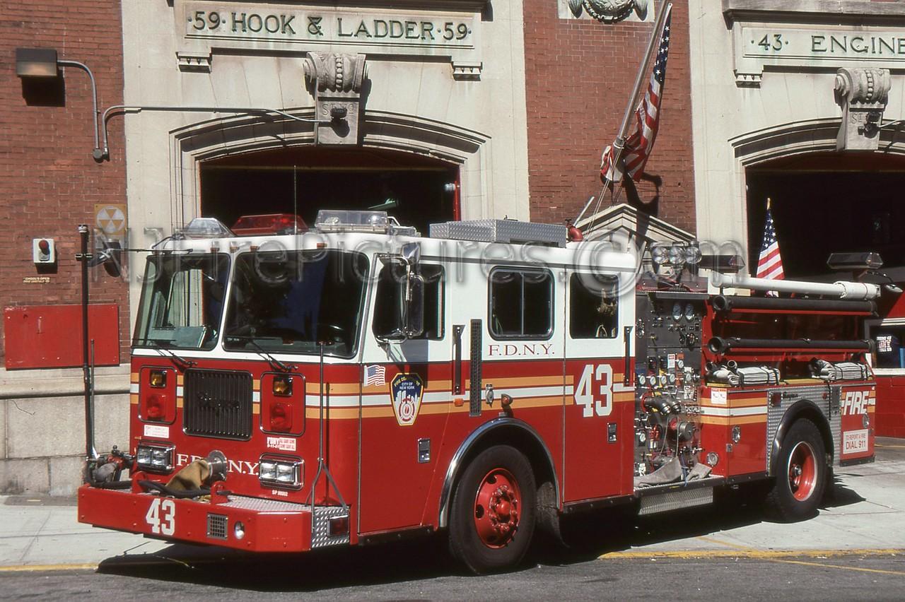 BRONX NY ENGINE 43