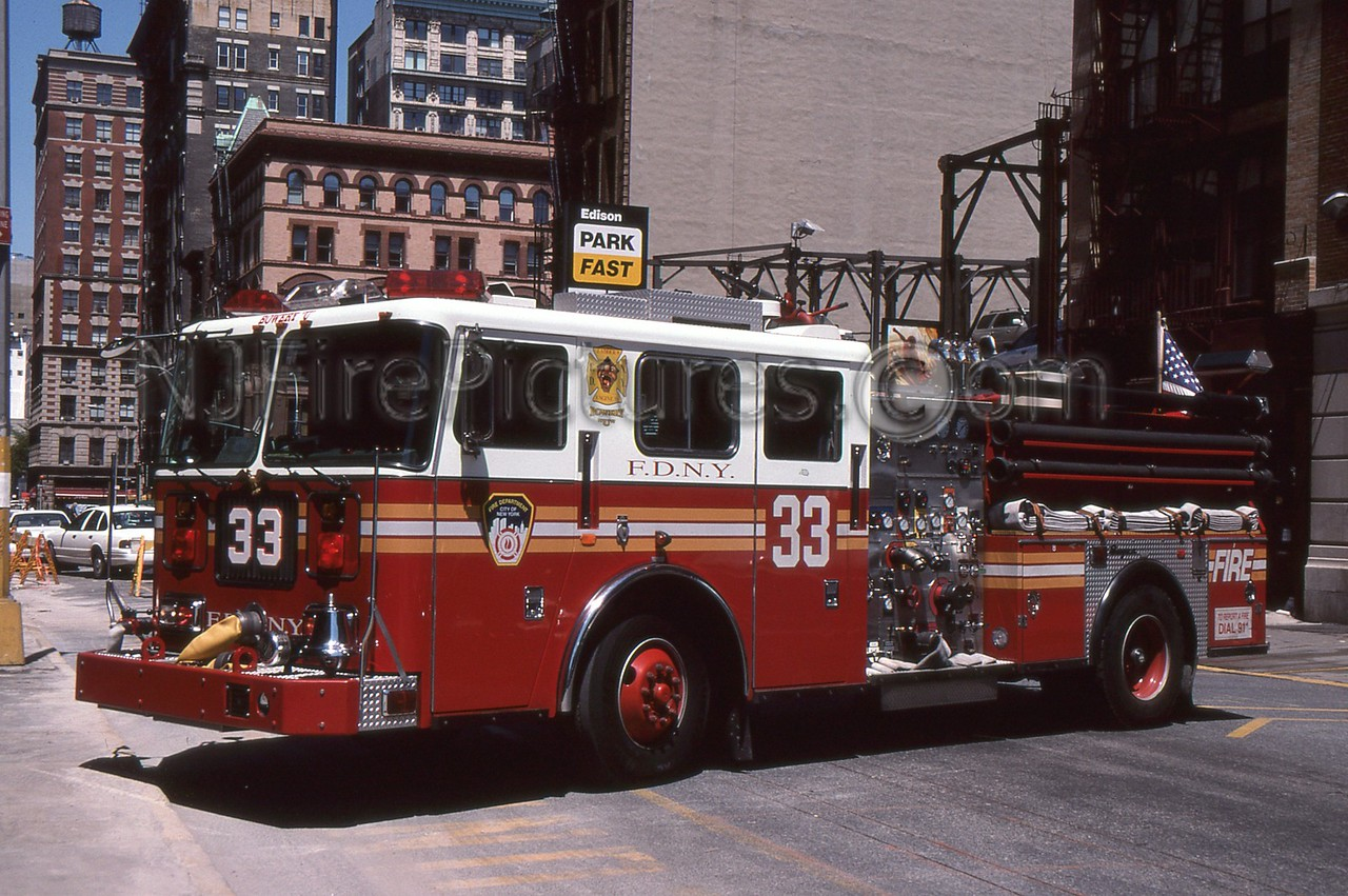 MANHATTAN NY ENGINE 33