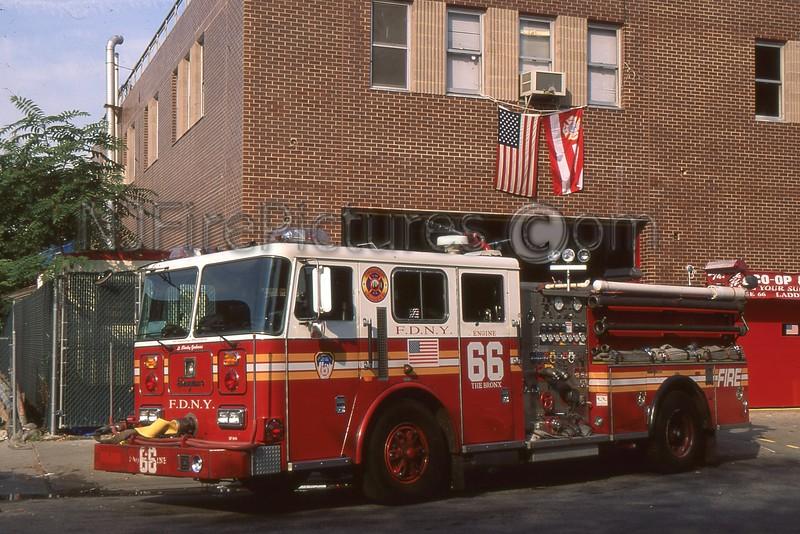 BRONX NY ENGINE 66