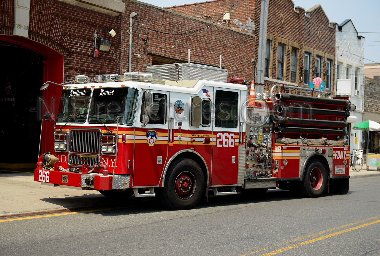 QUEENS NY ENGINE 266