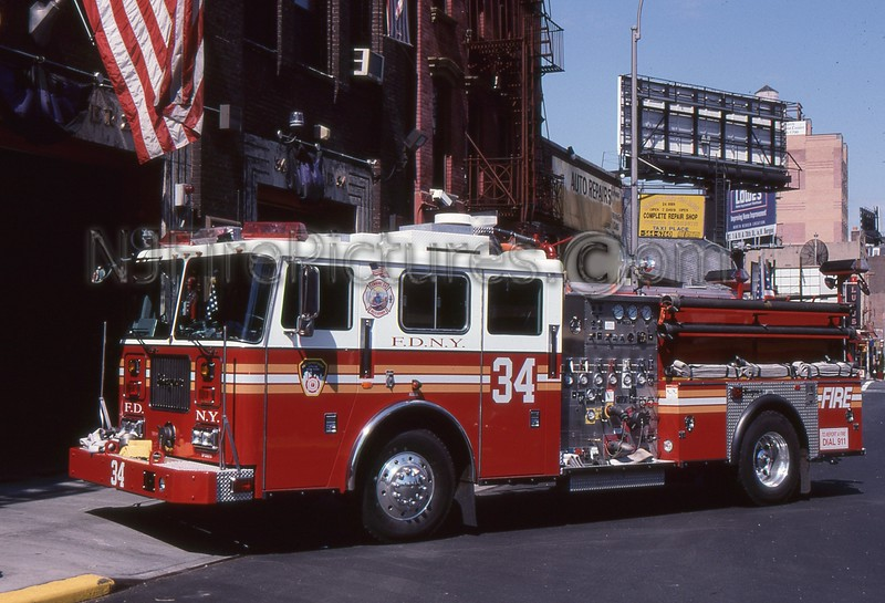 MANHATTAN NY ENGINE 34