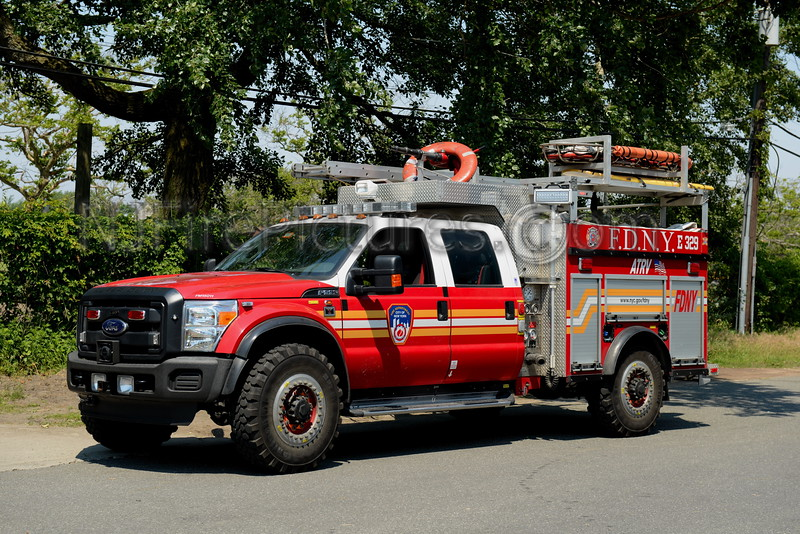 QUEENS, NY ATRV - ENGINE 329