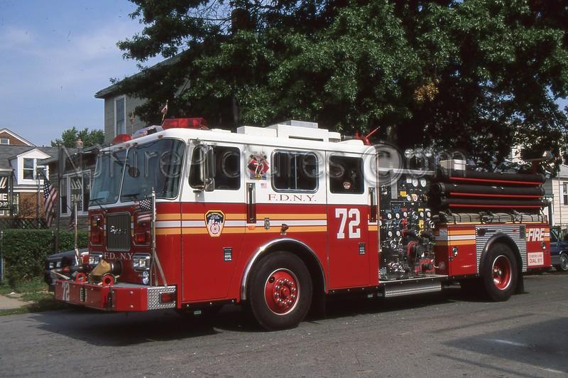 BRONX NY ENGINE 72