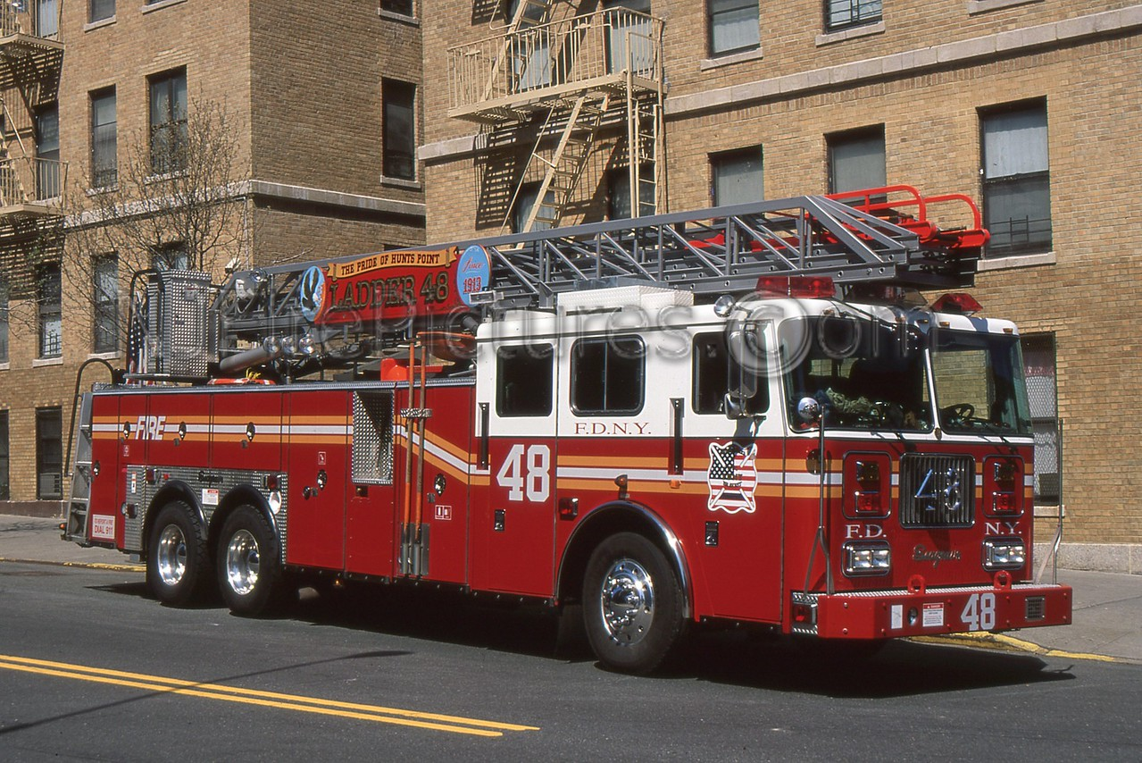 BRONX NY LADDER 48