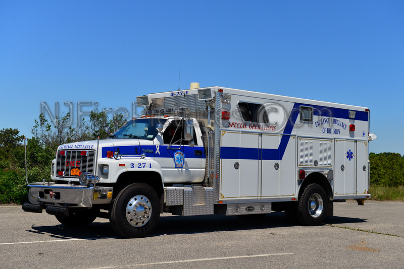 EXCHANGE AMBULANCE OF THE ISLIPS RESCUE 3-27-1