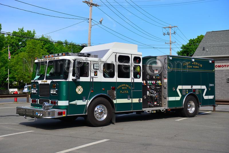 PORT JERVIS, NY ENGINE 825